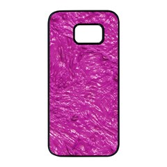Thick Wet Paint C Samsung Galaxy S7 Edge Black Seamless Case by MoreColorsinLife