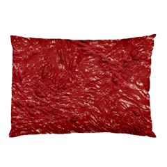 Thick Wet Paint E Pillow Case (two Sides) by MoreColorsinLife