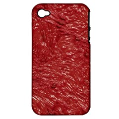 Thick Wet Paint E Apple Iphone 4/4s Hardshell Case (pc+silicone) by MoreColorsinLife