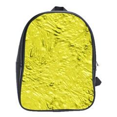 Thick Wet Paint F School Bags (xl)  by MoreColorsinLife