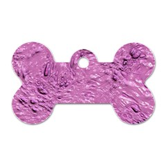 Thick Wet Paint G Dog Tag Bone (one Side) by MoreColorsinLife