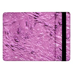 Thick Wet Paint G Samsung Galaxy Tab Pro 12 2  Flip Case by MoreColorsinLife