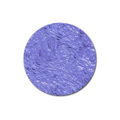 Thick Wet Paint H Magnet 3  (round) by MoreColorsinLife