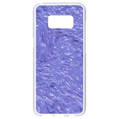 Thick Wet Paint H Samsung Galaxy S8 White Seamless Case by MoreColorsinLife