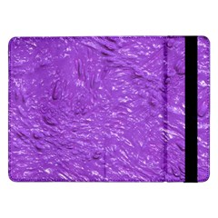 Thick Wet Paint I Samsung Galaxy Tab Pro 12 2  Flip Case by MoreColorsinLife