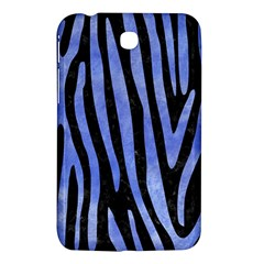 Skin4 Black Marble & Blue Watercolor (r) Samsung Galaxy Tab 3 (7 ) P3200 Hardshell Case