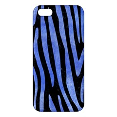 Skin4 Black Marble & Blue Watercolor (r) Iphone 5s/ Se Premium Hardshell Case by trendistuff