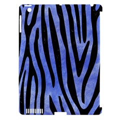 Skin4 Black Marble & Blue Watercolor Apple Ipad 3/4 Hardshell Case (compatible With Smart Cover) by trendistuff