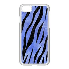 Skin3 Black Marble & Blue Watercolor (r) Apple Iphone 7 Seamless Case (white) by trendistuff