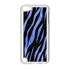 Skin3 Black Marble & Blue Watercolor Apple Ipod Touch 5 Case (white) by trendistuff