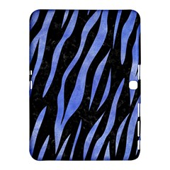 Skin3 Black Marble & Blue Watercolor Samsung Galaxy Tab 4 (10 1 ) Hardshell Case  by trendistuff