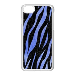 Skin3 Black Marble & Blue Watercolor Apple Iphone 7 Seamless Case (white) by trendistuff