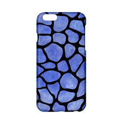 Skin1 Black Marble & Blue Watercolor Apple Iphone 6/6s Hardshell Case by trendistuff