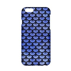 Scales3 Black Marble & Blue Watercolor (r) Apple Iphone 6/6s Hardshell Case by trendistuff