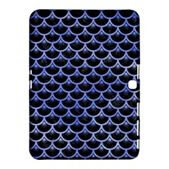 Scales3 Black Marble & Blue Watercolor Samsung Galaxy Tab 4 (10 1 ) Hardshell Case  by trendistuff