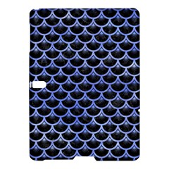 Scales3 Black Marble & Blue Watercolor Samsung Galaxy Tab S (10 5 ) Hardshell Case  by trendistuff