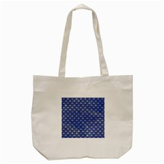 Scales2 Black Marble & Blue Watercolor (r) Tote Bag (cream)