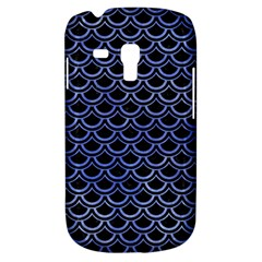 Scales2 Black Marble & Blue Watercolor Samsung Galaxy S3 Mini I8190 Hardshell Case by trendistuff