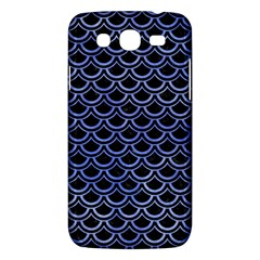 Scales2 Black Marble & Blue Watercolor Samsung Galaxy Mega 5 8 I9152 Hardshell Case  by trendistuff