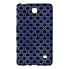 Scales2 Black Marble & Blue Watercolor Samsung Galaxy Tab 4 (7 ) Hardshell Case  by trendistuff