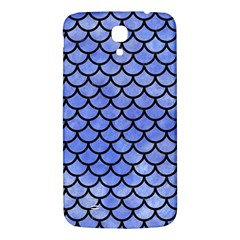 Scales1 Black Marble & Blue Watercolor (r) Samsung Galaxy Mega I9200 Hardshell Back Case by trendistuff