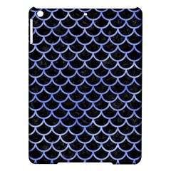 Scales1 Black Marble & Blue Watercolor Apple Ipad Air Hardshell Case by trendistuff