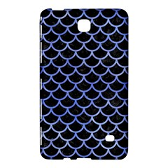 Scales1 Black Marble & Blue Watercolor Samsung Galaxy Tab 4 (8 ) Hardshell Case  by trendistuff