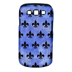 Royal1 Black Marble & Blue Watercolor Samsung Galaxy S Iii Classic Hardshell Case (pc+silicone)
