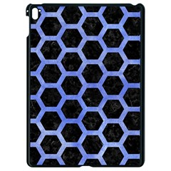 Hexagon2 Black Marble & Blue Watercolor Apple Ipad Pro 9 7   Black Seamless Case by trendistuff