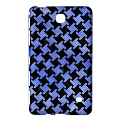 Houndstooth2 Black Marble & Blue Watercolor Samsung Galaxy Tab 4 (8 ) Hardshell Case  by trendistuff