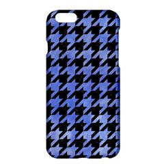 Houndstooth1 Black Marble & Blue Watercolor Apple Iphone 6 Plus/6s Plus Hardshell Case by trendistuff