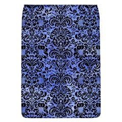 Damask2 Black Marble & Blue Watercolor (r) Removable Flap Cover (l) by trendistuff