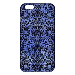 Damask2 Black Marble & Blue Watercolor (r) Iphone 6 Plus/6s Plus Tpu Case