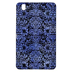 Damask2 Black Marble & Blue Watercolor Samsung Galaxy Tab Pro 8 4 Hardshell Case by trendistuff
