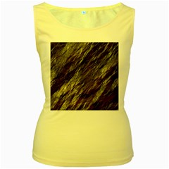 Wet Stone 11 Women s Yellow Tank Top by MoreColorsinLife