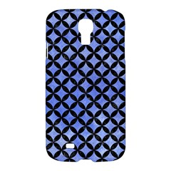 Circles3 Black Marble & Blue Watercolor (r) Samsung Galaxy S4 I9500/i9505 Hardshell Case by trendistuff