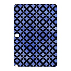 Circles3 Black Marble & Blue Watercolor (r) Samsung Galaxy Tab Pro 10 1 Hardshell Case by trendistuff