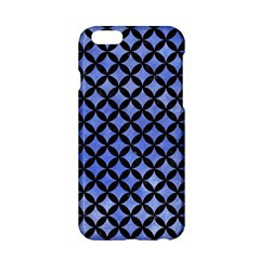 Circles3 Black Marble & Blue Watercolor (r) Apple Iphone 6/6s Hardshell Case by trendistuff