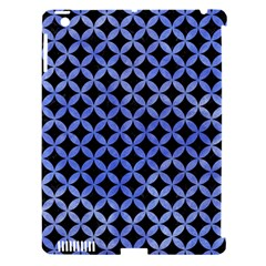 Circles3 Black Marble & Blue Watercolor Apple Ipad 3/4 Hardshell Case (compatible With Smart Cover) by trendistuff