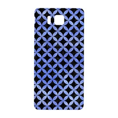Circles3 Black Marble & Blue Watercolor Samsung Galaxy Alpha Hardshell Back Case by trendistuff