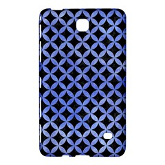 Circles3 Black Marble & Blue Watercolor Samsung Galaxy Tab 4 (8 ) Hardshell Case  by trendistuff