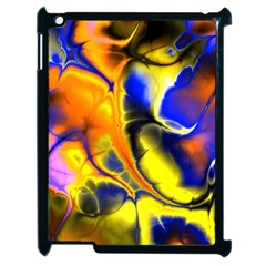 Fractal Art Pattern Cool Apple Ipad 2 Case (black)
