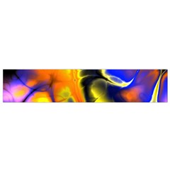 Fractal Art Pattern Cool Flano Scarf (small) by Nexatart