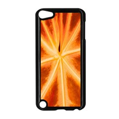 Red Leaf Macro Detail Apple Ipod Touch 5 Case (black) by Nexatart