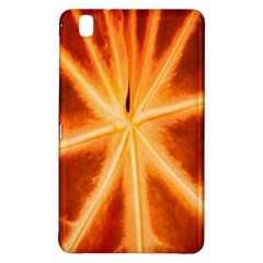Red Leaf Macro Detail Samsung Galaxy Tab Pro 8 4 Hardshell Case by Nexatart