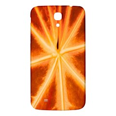 Red Leaf Macro Detail Samsung Galaxy Mega I9200 Hardshell Back Case by Nexatart