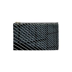 Abstract Architecture Pattern Cosmetic Bag (small)  by Nexatart