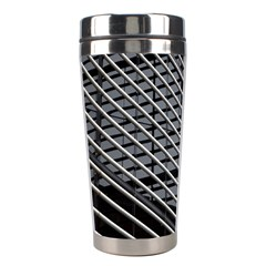 Abstract Architecture Pattern Stainless Steel Travel Tumblers by Nexatart