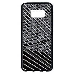 Abstract Architecture Pattern Samsung Galaxy S8 Plus Black Seamless Case