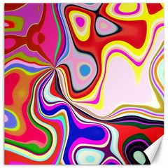 Colourful Abstract Background Design Canvas 20  X 20   by Nexatart